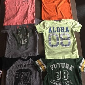 Lot of 6 Boy's T-Shirts-EUC!!